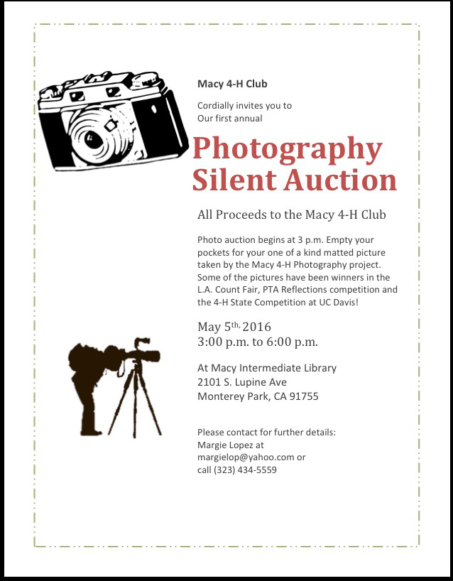 Photograohy Silent Auction.jpg