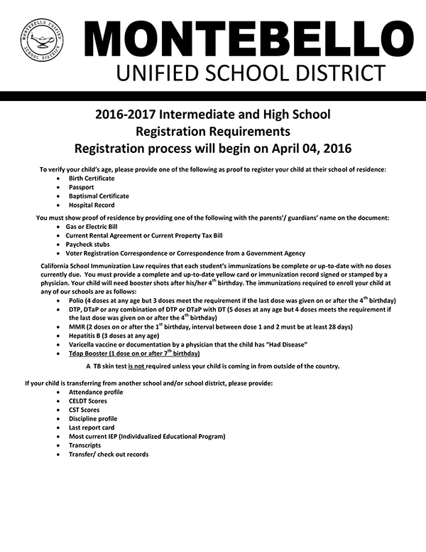 Intermediate - High School English Registration Packet  2016-2017-1.jpg
